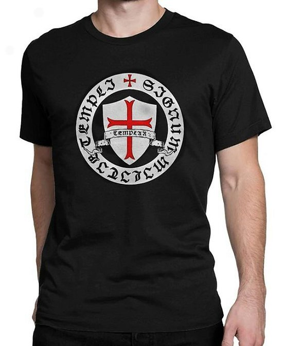 TEE SHIRT TEMPLIER  CROIX PATTEE ANCREE