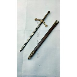 OUVRE-LETTRE EPEE CLAYMORE HIGHLANDERS