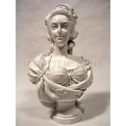 BUSTE/MARIE-ANTOINETTE/Reine de France/épouse LouisXVI