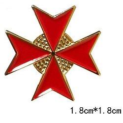 PIN'S TEMPLIER/CROIX DE MALTE 2