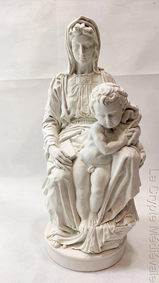 VIERGE ET L'ENFANT DE MICHEL-ANGE/BRUGES
