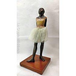 La Petite danseuse âgée de 14 ans de Degas G.M.Style bronze 36cm/Opéra