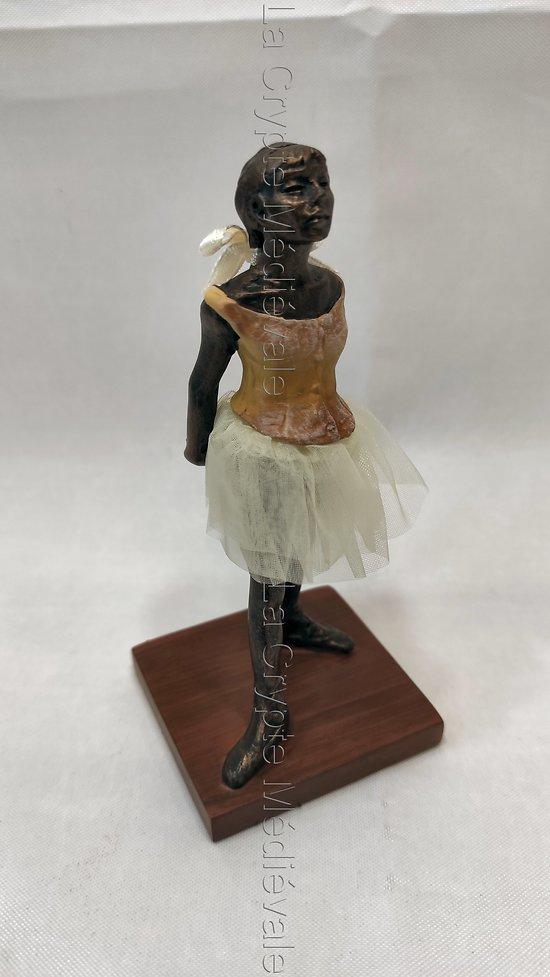 La Petite danseuse âgée de 14 ans de Degas G.M.Style bronze miniature/Opéra