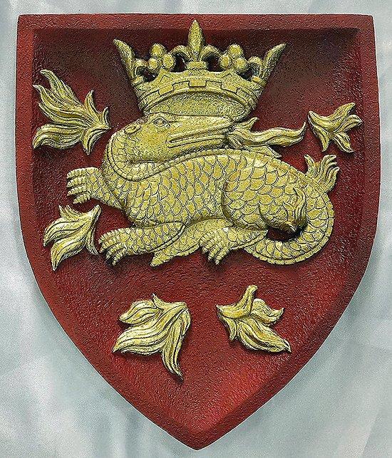 BLASON DE François 1er Ecu Salamandre