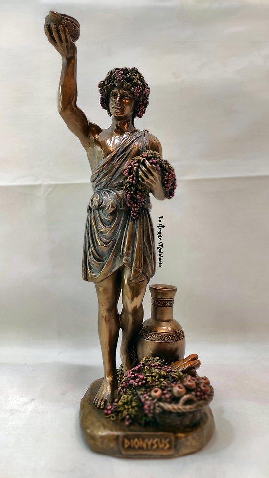 DIONYSOS/DIEU DU VIN/MYTHOLOGIE OLYMPE