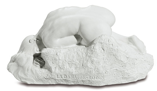 La Danaïde/sculpture/AUGUSTE RODIN/COULEUR MARBRE/ART