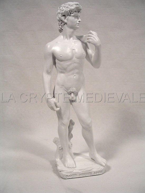DAVID PAR MICHEL ANGE STATUETTE ART ITALIE