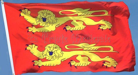 Drapeau Normand 150cmsur 90cm