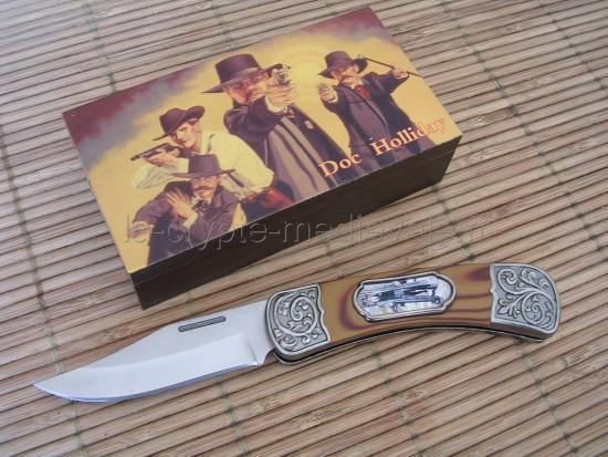 Couteau Doc Holiday/Western/Far West/Cow Boy