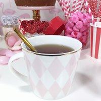 Berlioz - Mug en céramique avec anse // Arlequin rose