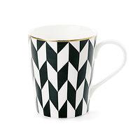 Cléo - Mug avec anse en céramique // Graphique noir