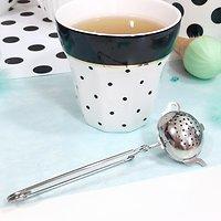 Lady - Infuseur à thé  // Théière argentée