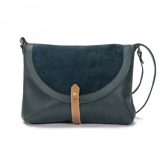 | AKY LARGE | - Grand sac besace // Classic Navy