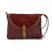 | AKY LARGE | - Grand sac besace // Bordeaux