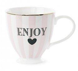 Duchesse - Mug céramique // Enjoy rose