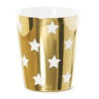 Molly - Tasse en céramique // Or étoiles blanches