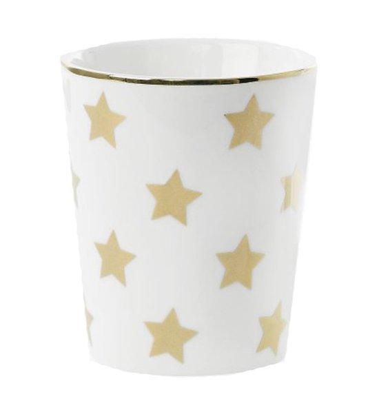 Molly - Tasse en céramique // Etoiles dorées