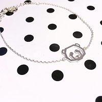| OURS | - Bracelet fantaisie // Argent