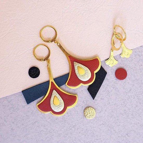 | REINE | - Boucles d'oreilles baroques // Plusieurs coloris