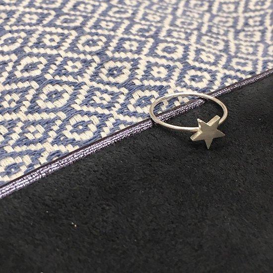 | HALEY | - Bague fantaisie étoile // Argent