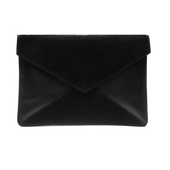 Adèle XL - Pochette enveloppe // Noir