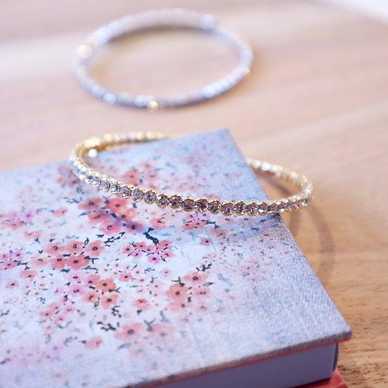 | HINA | - Bracelet jonc cristal // Plusieurs coloris