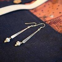 | AUDREY | - Boucles d'oreilles pendantes // Plusieurs coloris