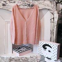 | BALTHAZAR | - Pull/Gilet maille crochet // Rose