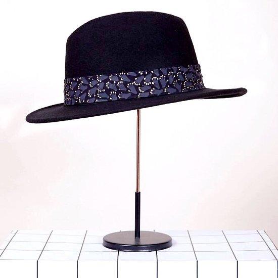 | HUG | - Chapeau ruban mains // Noir