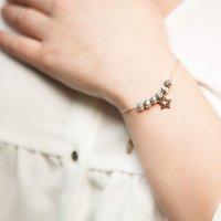 | ESTELLE | - Bracelet perles + étoile // Plusieurs coloris