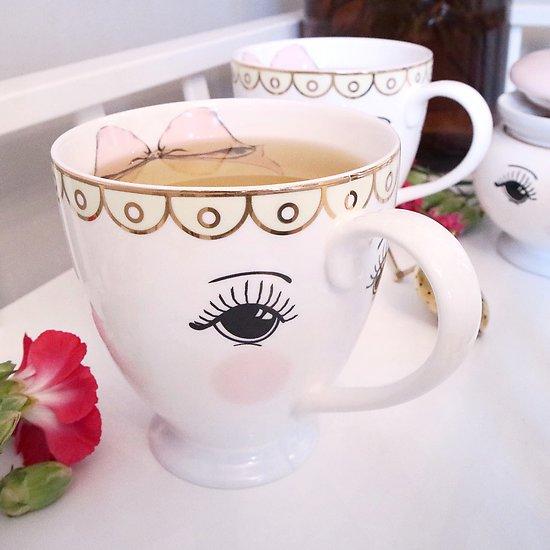   DUCHESSE   - Tasse en céramique // Visage & nœud
