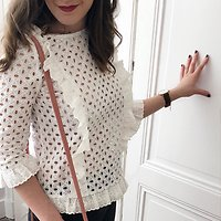 | BABIOLE | - Top broderie anglaise // Plusieurs coloris