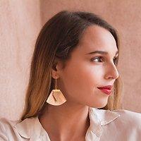 | CHLOÉ | - Boucles d'oreilles en cuir // Plusieurs coloris