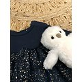 Peluche chouette Olympe