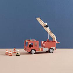Camion de pompier Valentin