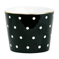 Aurore - Mug en céramique // Pois blancs
