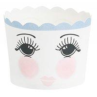 Blanche - Caissettes à cupcakes // Visage