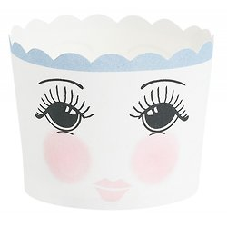 Caissettes à cupcakes Blanche