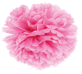 Plumette - Pompon Small // Rose
