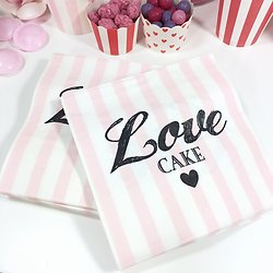 "| NALA | - Serviettes papier ""Love cake"""