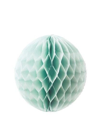 Pétunia - Mini boule alvéolée Médium // Bleu ciel