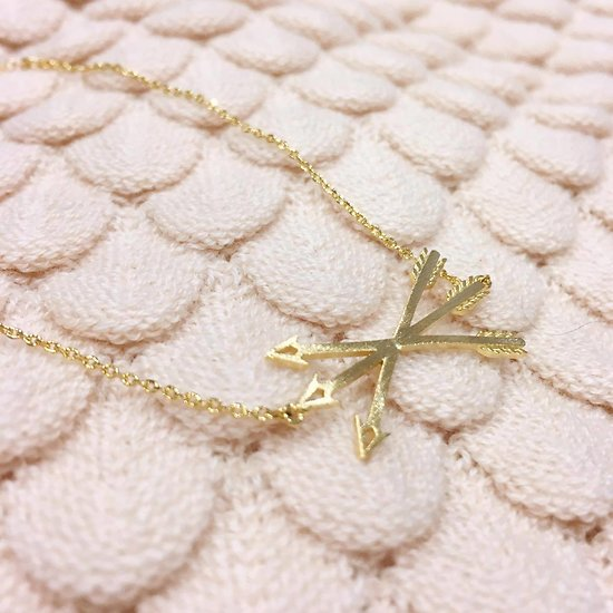 Arrow - Bracelet fantaisie // Doré