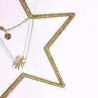 | LICORNE | - Bracelet fantaisie origami // Doré