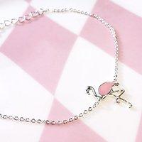 | FLAMINGO | - Bracelet fantaisie // Argent + rose