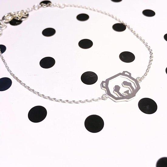   OURS   - Bracelet fantaisie // Argent
