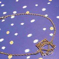 | HIBOU | - Bracelet fantaisie // Doré
