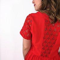 Escale - Robe dentelle cœur <3 // Rouge