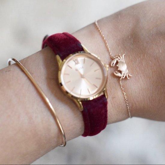   CRABE   - Bracelet fantaisie  // Doré