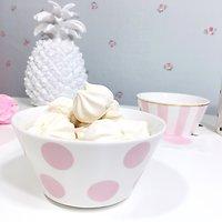 Corail - Petit bol en céramique // Pois rose