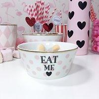 Corail - Petit bol en céramique // Eat me pois rose
